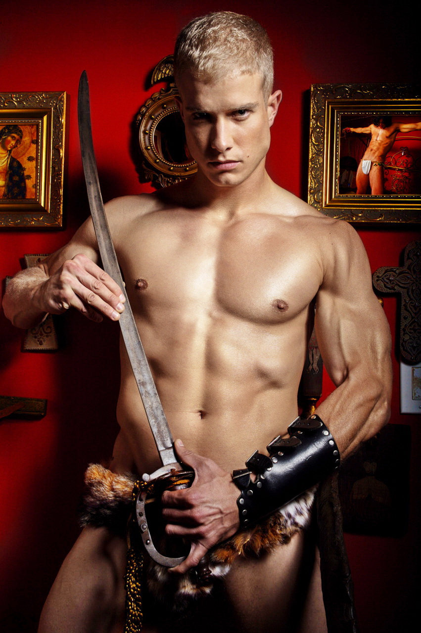 Nude male warrior naked pics